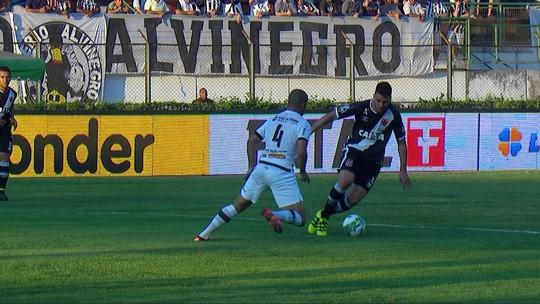 Vasco e Tupi empatam, e Cruz-Maltino chega a quatro jogos sem vencer