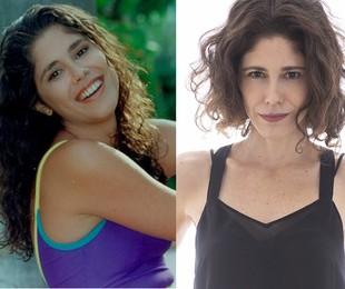 Juliana Martins foi a primeira protagonista de 'Malhação', Isabella, em 1995. 'Tenho muito orgulho de ter ajudado a contar essa história. É um programa pioneiro em relação à representatividade dos jovens' | Reprodução e Leo Aversa