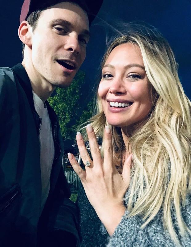 Hilary Duff e Matthew Koma (Foto: Reprodução/Instagram)