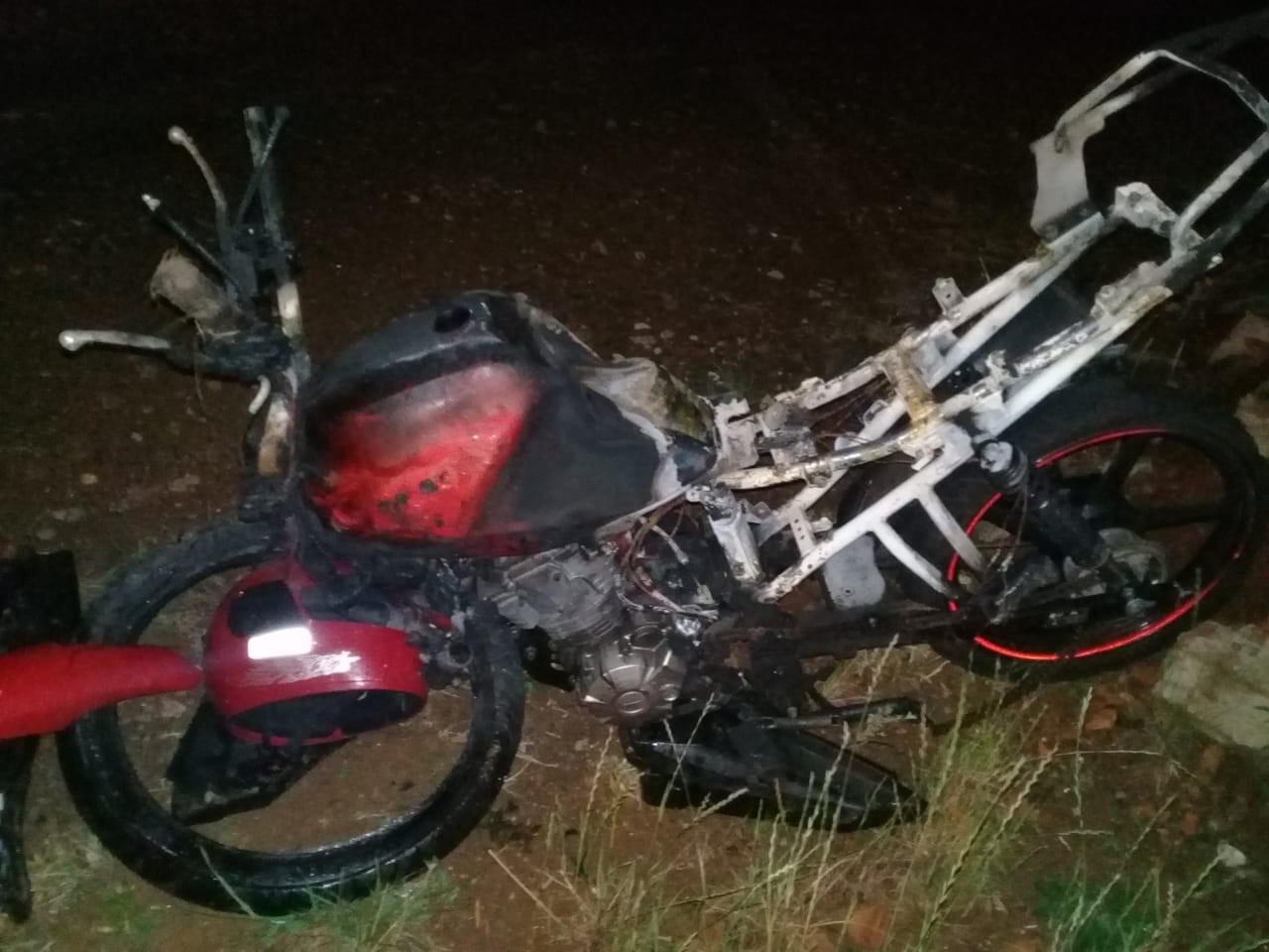 Motociclista morre em acidente na PR-459, em Pinhão - Notícias - Plantão Diário