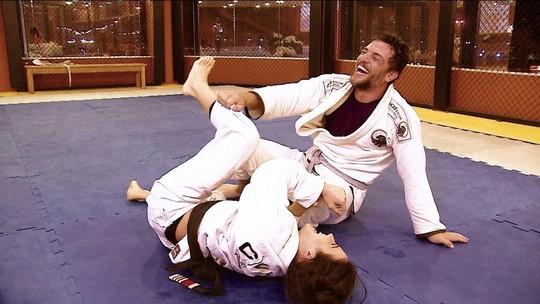 Ator Rodrigo Lombardi revela sua paixão pelo jiu-jitsu