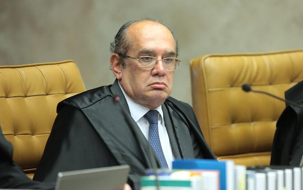 O ministro Gilmar Mendes, do Supremo Tribunal Federal (Foto: Carlos Moura/SCO/STF)