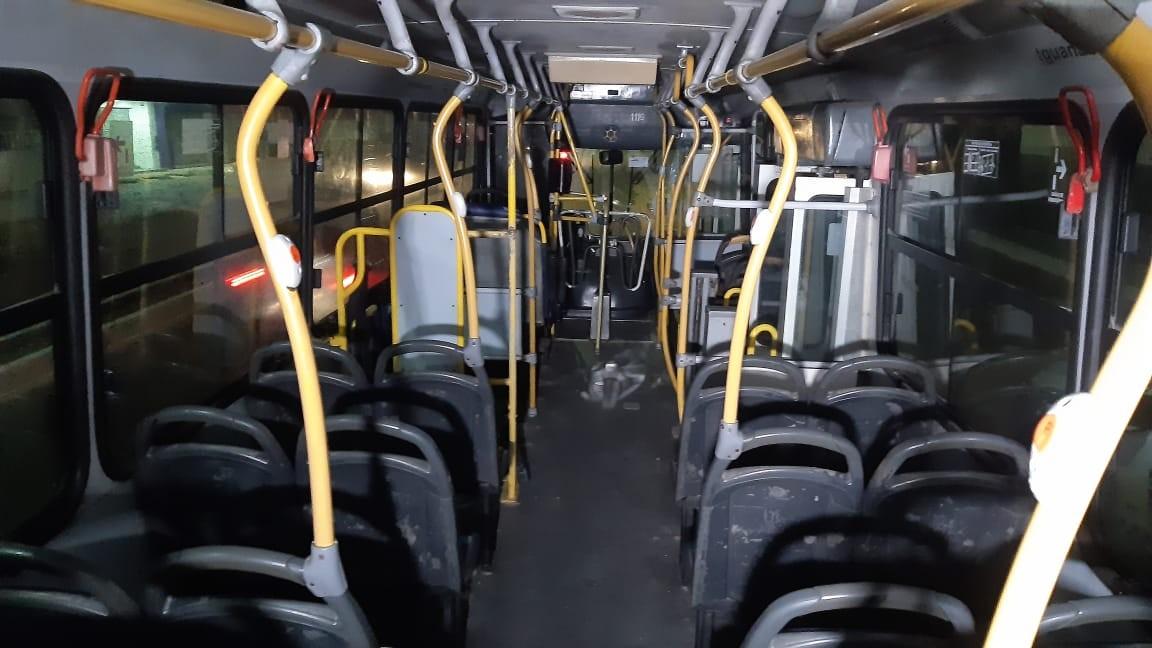 Secretaria de Segurança registra redução de 58% nos assaltos a ônibus em Natal no primeiro quadrimestre de 2021