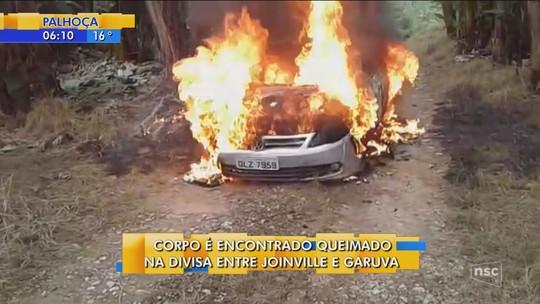 Com braços amarrados, corpo é encontrado carbonizado em Joinville