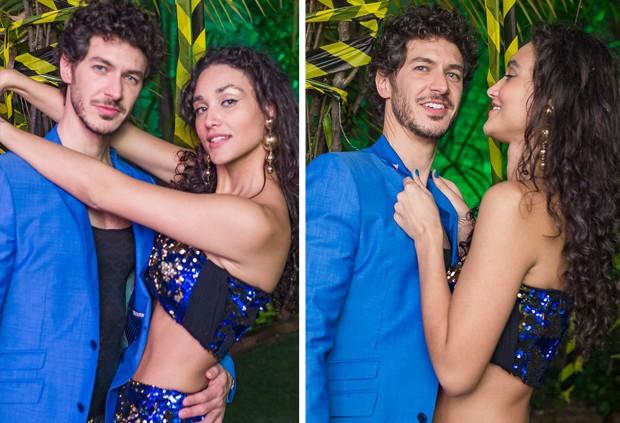 Debora Nascimento e Luiz Perez (Foto: Festa Apocalipse Tropical/Facebook)