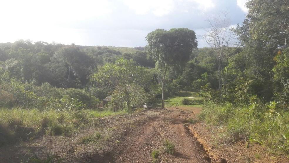 Suspeito de estuprar e engravidar a própria filha foi preso em Tracajatuba, área rural do interior do Amapá (Foto: Polícia Civil/Divulgação)