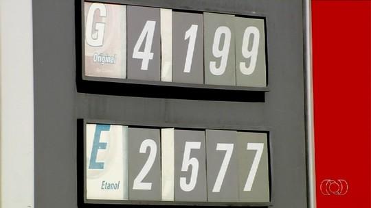 Cai preço do etanol em postos de combustíveis de Goiânia