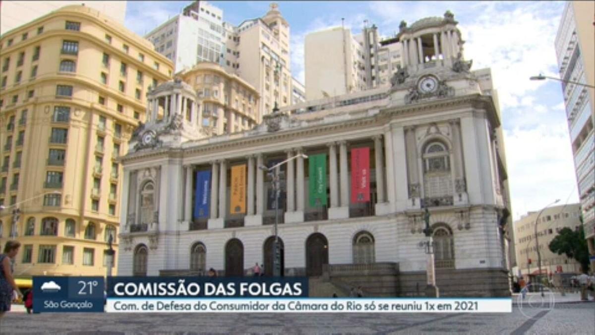 Comissão de Defesa do Consumidor da Câmara do Rio não realizou nenhuma reunião este ano