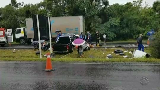 Em sábado chuvoso, Rio Grande do Sul tem pelo menos seis mortes no trânsito