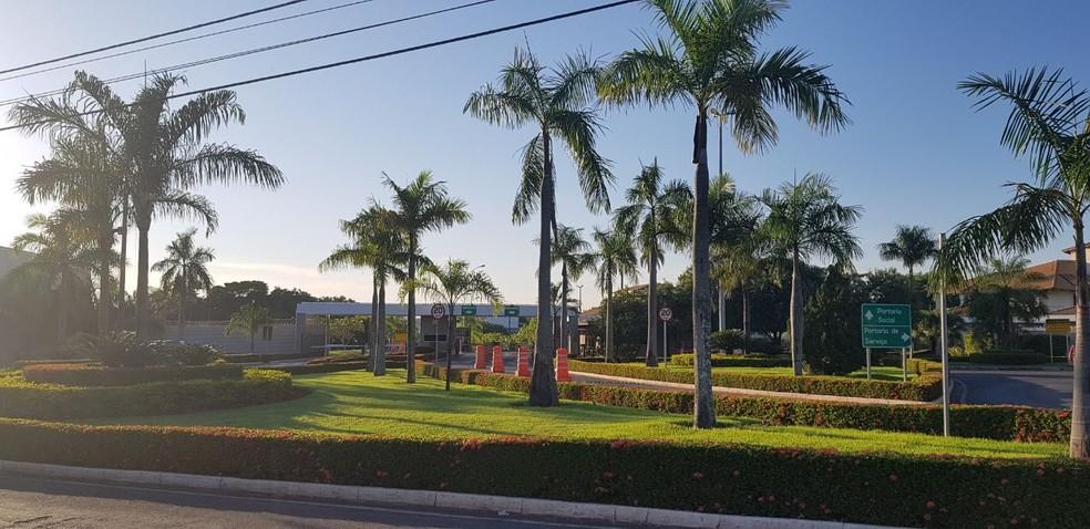 Segunda fase da operação Bereré, batizada como 'Bônus', foi deflagrada em Cuiabá (Foto: Tiago Terciotty/TV Centro América)