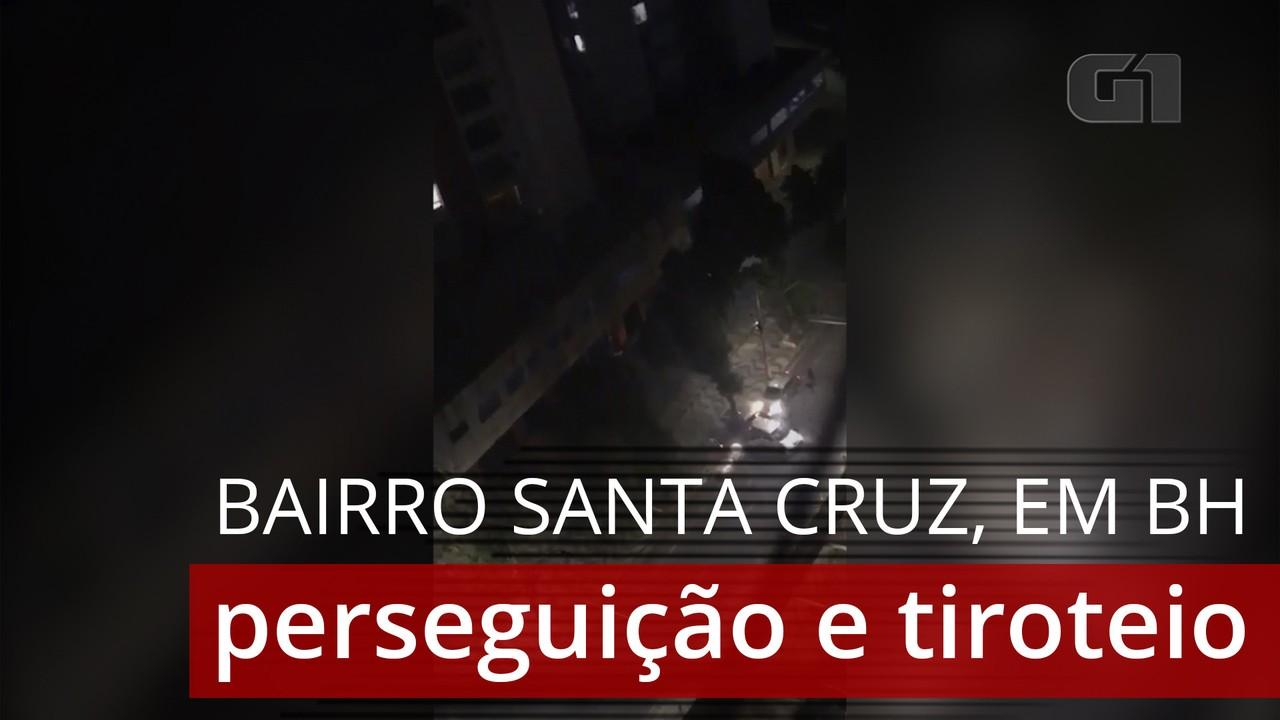 Perseguição e tiroteio assustam moradores do bairro Santa Cruz, em BH