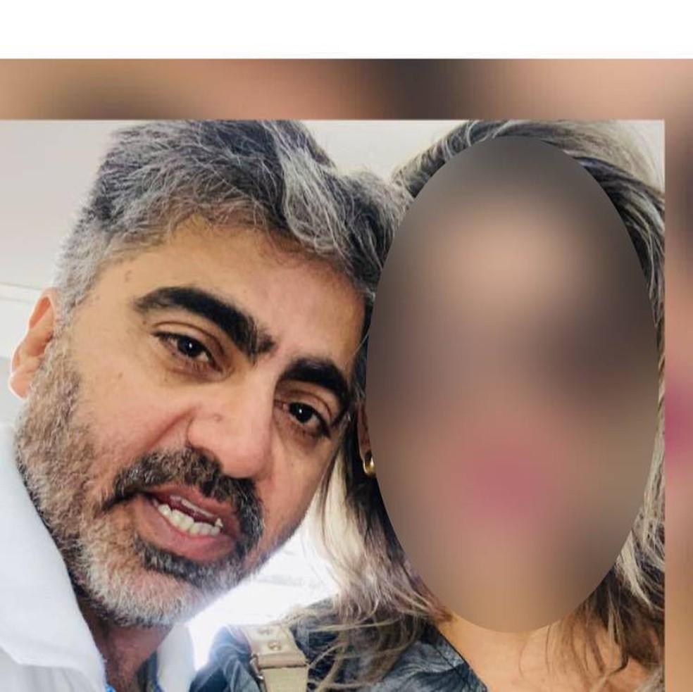 Faisal Ibrahim Abdulrahman Younes, de 49 anos, foi assassinado em MT. — Foto: Arquivo Pessoal