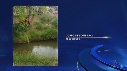 Corpo de homem é encontrado em ribeirão de Taquarituba