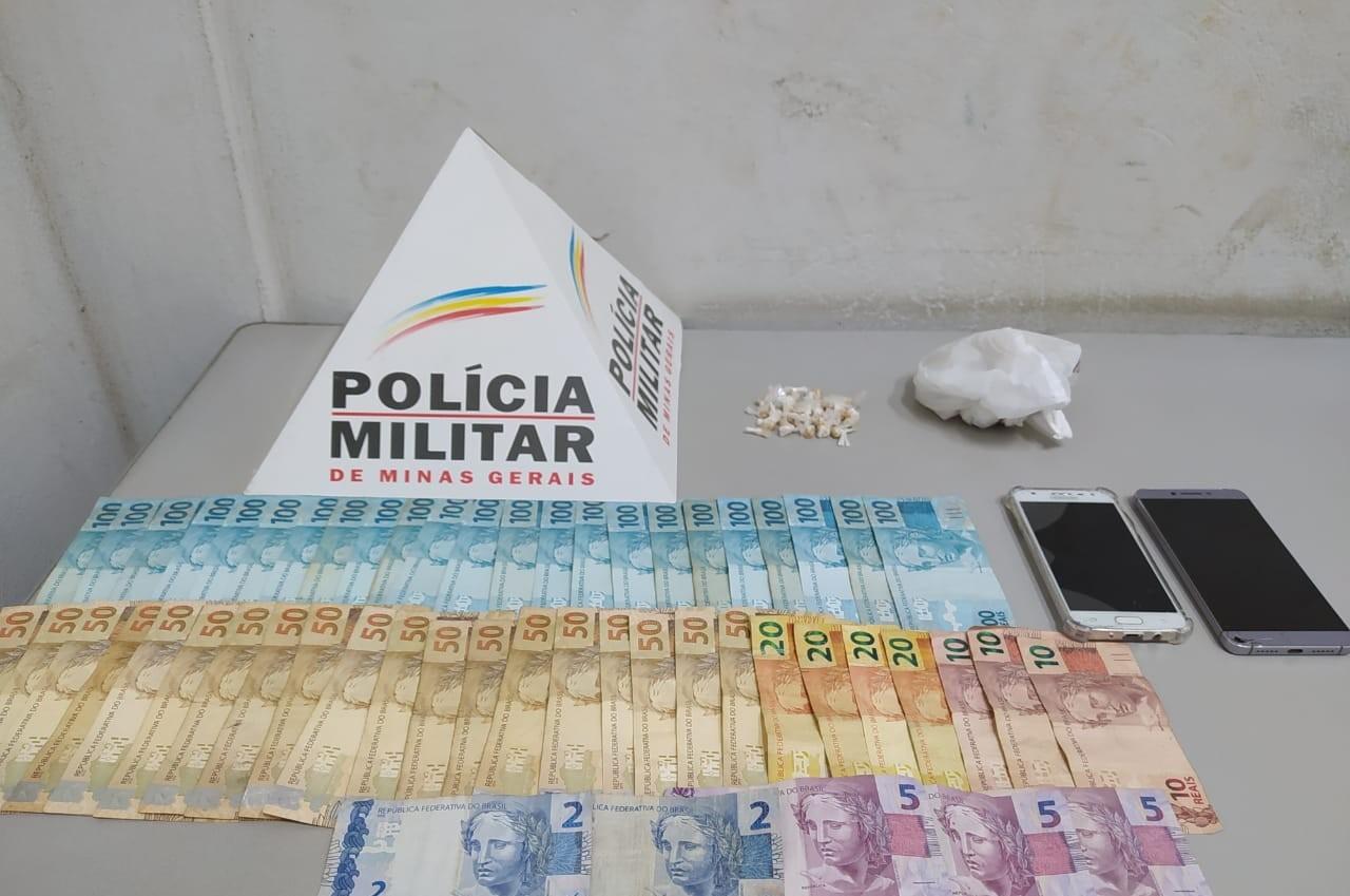 Dupla é detida por tráfico de drogas em Pará de Minas