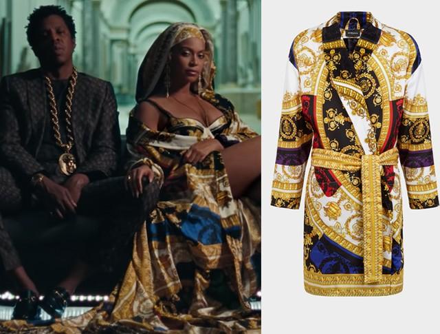 Beyoncé e Jay-Z em Apes**t (Foto: Divulgação)