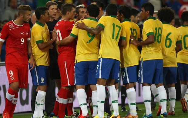 Suiça x Brasil (Foto: Bruno Domingos/Mowa Press)