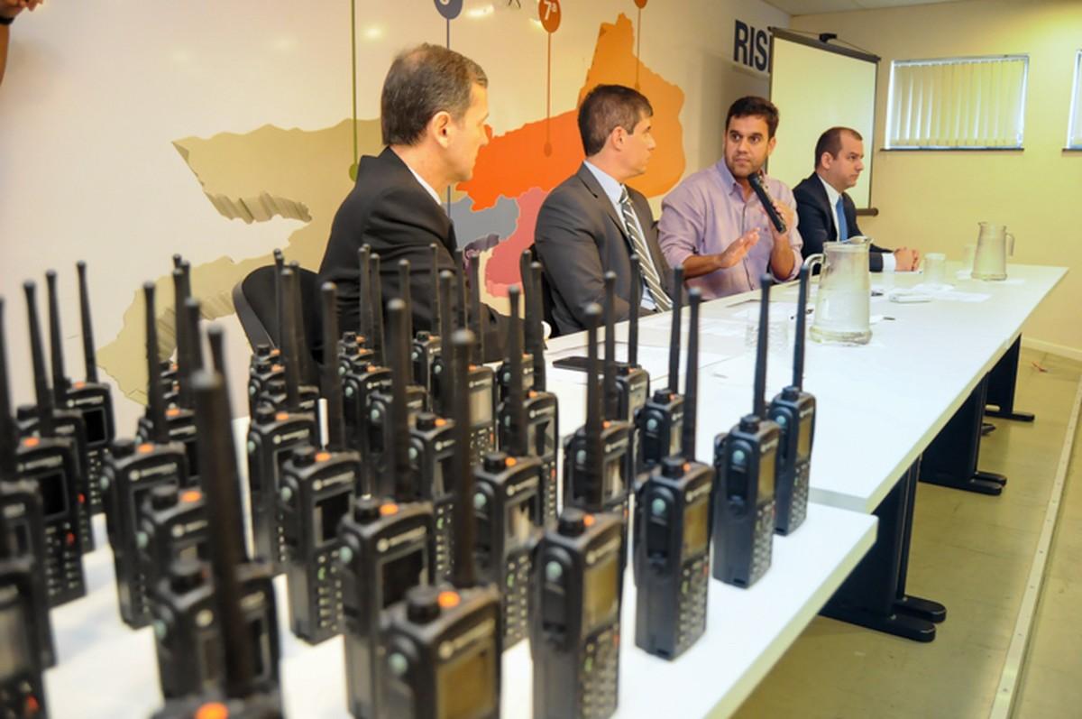 Guarda, Instituto de Trânsito e Defesa Civil de Campos, RJ, vão contar com radiotransmissores
