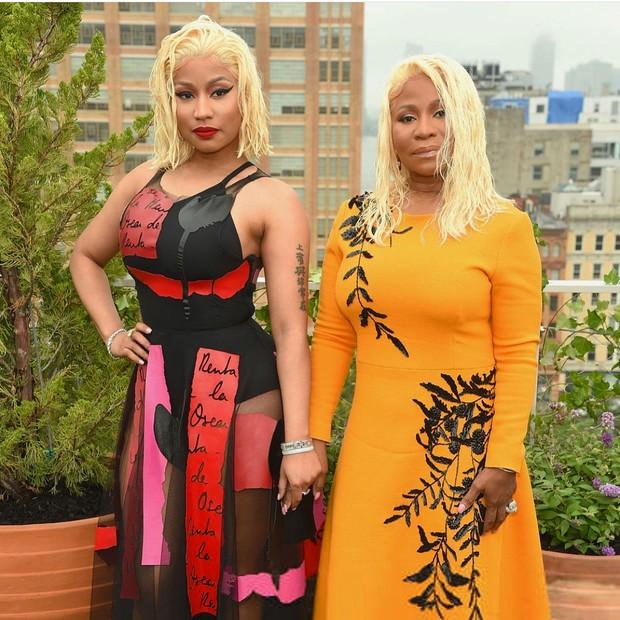 Nicki Minaj e mãe (Foto: Instagram/Reprodução)