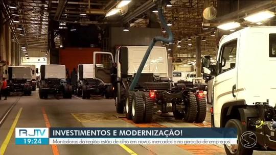 Montadoras do Sul do Rio investem para diversificar modelos e aumentar produção