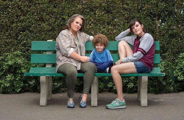 Rosie O'Donnell e Frankie Shaw em cena de 'Smilf' (Foto: Divulgação)