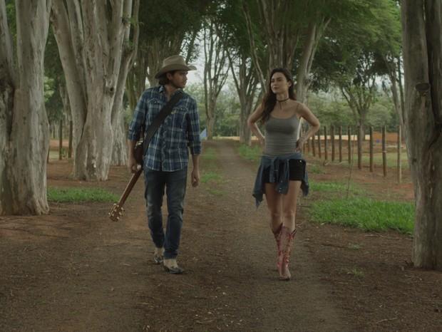 Thaila Ayala em Coração de Cowboy (Foto: Divulgação/Reprodução)