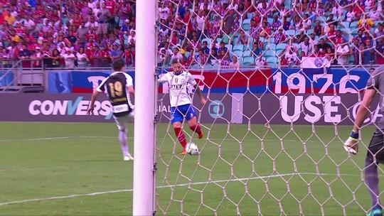 Melhores momentos: Bahia 1 x 0 Santos pela 2ª rodada do Brasileirão 2018