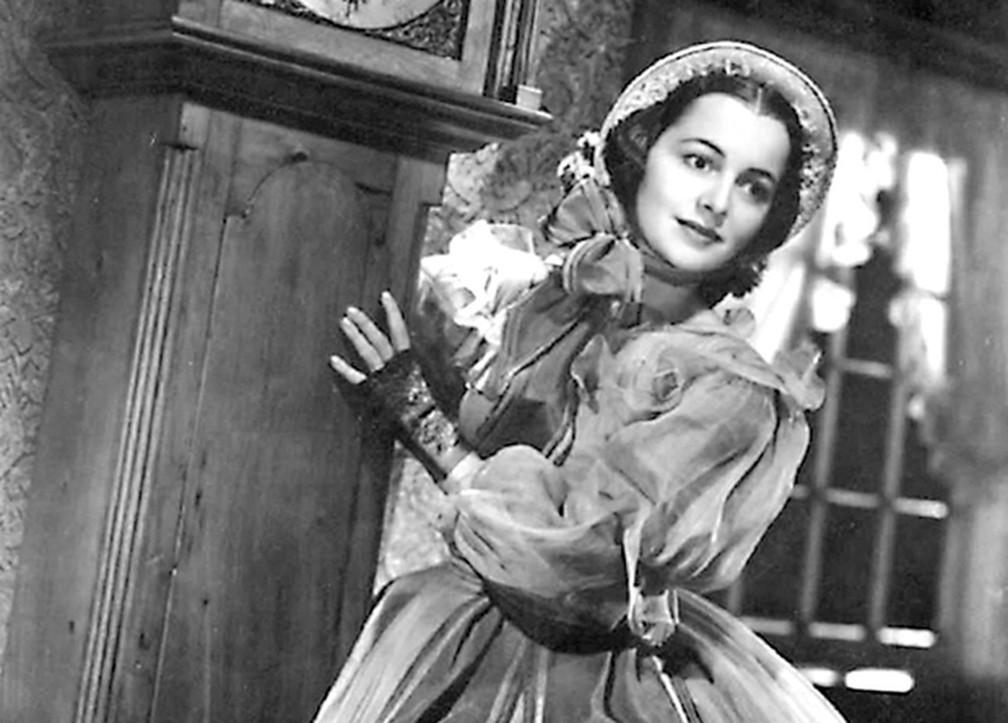 Olivia de Havilland em '...E o vento levou' — Foto: Divulgação