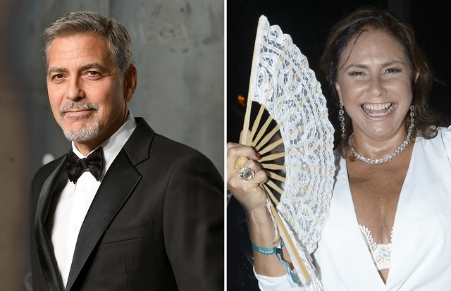 George Clooney e Fafá de Belém (Foto: Getty Images)