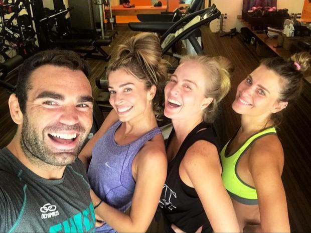 Grazi, Angélica e Carolina Dieckmann (Foto: Instagram/Reprodução)