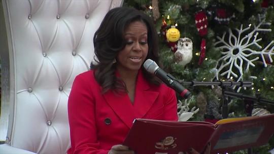 Michelle e Barack Obama são eleitos mulher e homem mais admirados