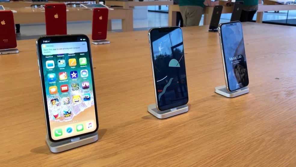 Apesar da queda, somatória dos números da Apple ainda é superior aos concorrentes (Foto: Thássius Veloso / TechTudo)