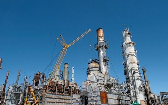 Fachada da refinaria de Pasadena (Foto:    PETROBRAS IMAGE BANK/Richard Carson)