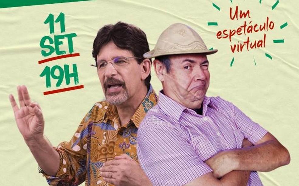 Jessier Quirino e Zé Lezin fazem live 'Mentira provisória: a verdade eleitoral' nesta sexta   Música em Paraíba   G1