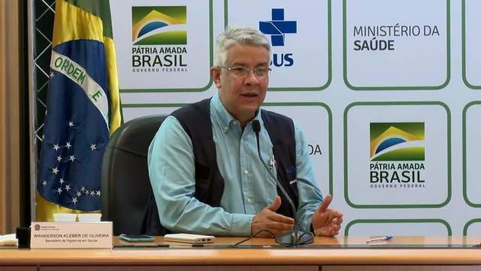 Secretário Wanderson de Oliveira — Foto: GloboNews