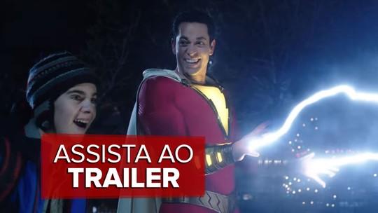 'Shazam!' estreia nos cinemas da Paraíba nesta quinta-feira