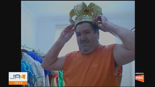 Morre Rei Momo de Florianópolis, Hernani Hulk
