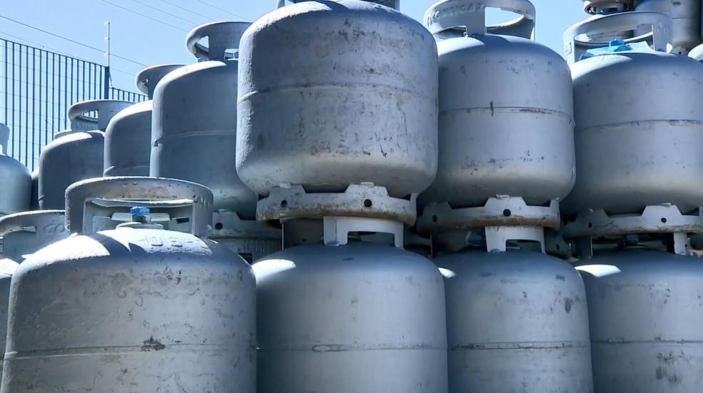 Aumento do consumo no gás de cozinha por causa do coronavírus já reflete em Campinas — Foto: Reprodução/EPTV