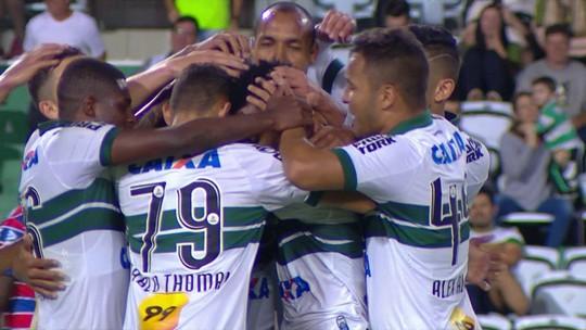 O gol de Coritiba 1 x 0 Fortaleza pela 38ª rodada da Série B 2018