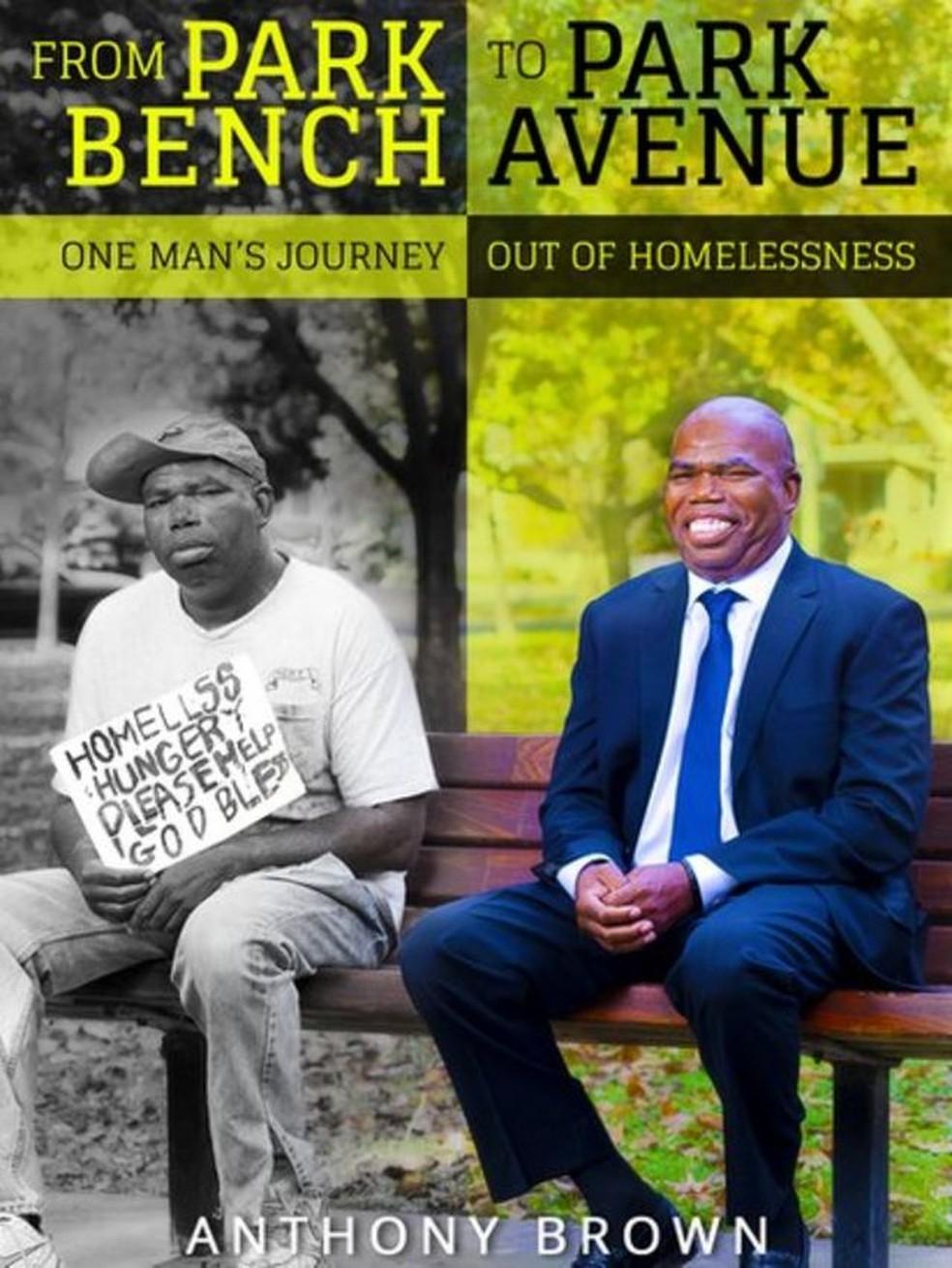 Ele escreveu um livro para compartilhar sua trajetória — Foto: SQUARE TREE PUBLISHING