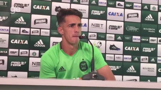 "Berola minimiza jejum de gols no Coritiba: ""O importante é a vitória"""