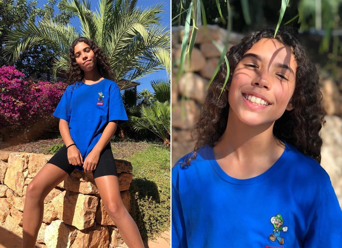 Maria Sofia, uma das filhas de Ronaldo (Foto: Reprodução / Instagram)