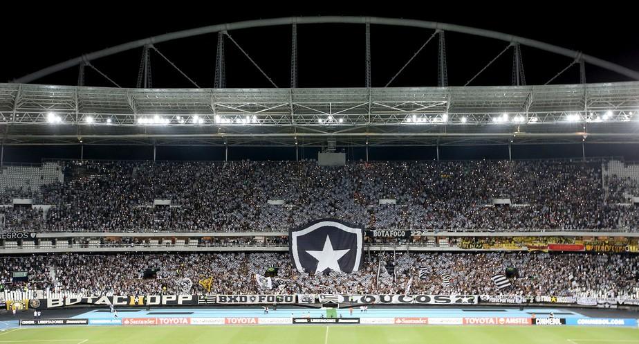 Ingressos de R$ 10 a R$ 20: Botafogo faz promoção para jogo de volta contra o Nacional-PAR pela Sul-Americana