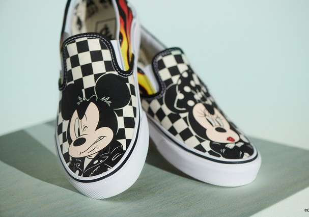 Vans comemora os 90 anos do Mickey  (Foto: Divulgação)