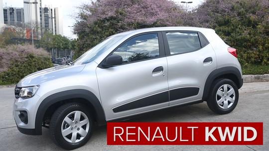 Renault Kwid 1.0 Zen: primeiras impressões