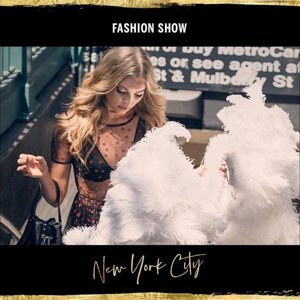 O Victoria's Secret Fashion Show 2018 será em Nova York (Foto: Reprodução/Instagram)
