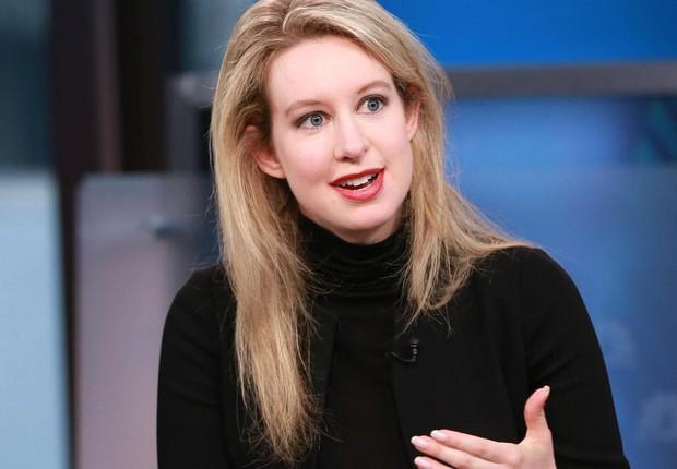Elizabeth Holmes, CEO da Theranos (Foto: Reprodução/NBC)