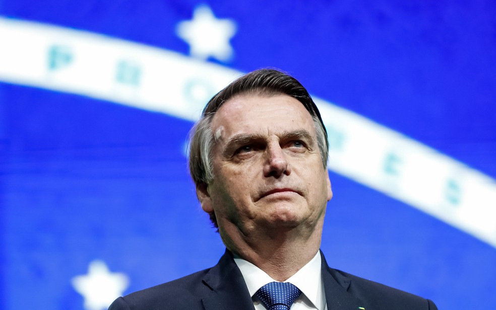 O presidente Jair Bolsonaro — Foto: Alan Santos / PR