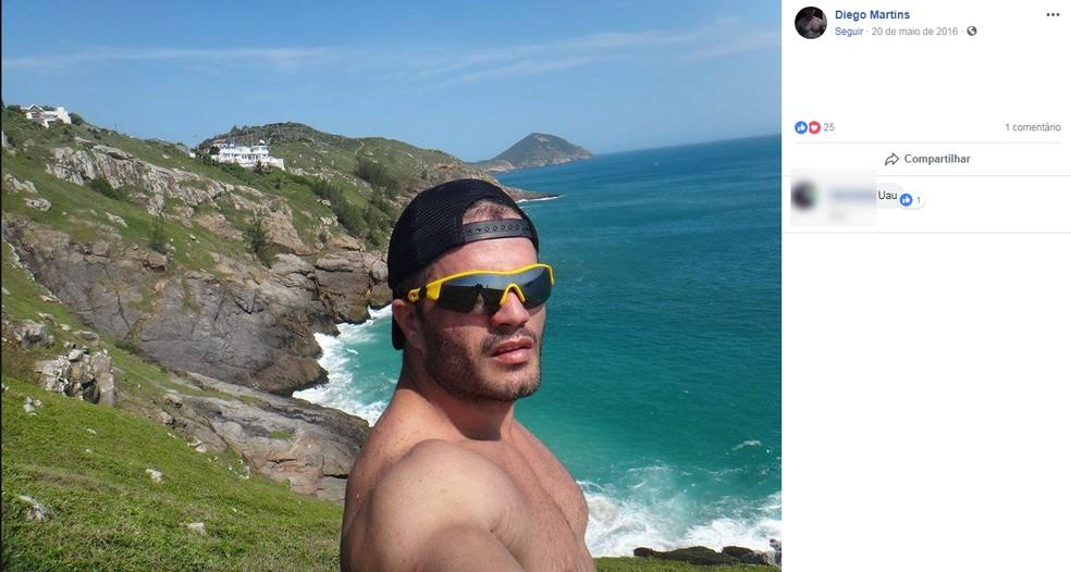 Diego era paraquedista e morreu na hora após acidente em Boituva  (Foto: Facebook/Reprodução)
