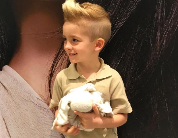 filho de Ana Hickamann (Foto: Reprodução Instagram)