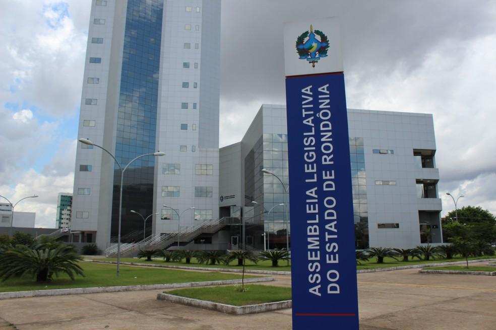 Candidatos têm 30 dias para assumir os cargos na Assembleia Legislativa de Rondônia (ALE-RO).  — Foto: Diêgo Holanda/G1